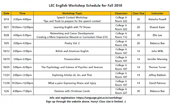 2018 Fall LEC English Workshop Schedule.PNG